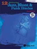 12 Medium-Easy Jazz, Blues & Funk Etudes Bob Mintzer laflutedepan.com