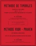 Méthode de Timbales Maurice Dewinne Partition laflutedepan.com