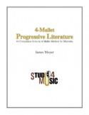 4-Mallet Progressive Literature Partition Marimba - laflutedepan.com