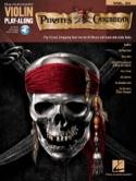 Violin play-along volume 23 - Pirates des Caraïbes laflutedepan.com