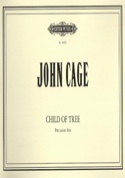 Child of Tree John Cage Partition Multi Percussions - laflutedepan.com