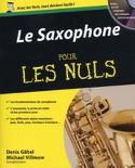 Le Saxophone pour les Nuls - Livre - Saxophone - laflutedepan.com