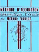 Méthode d'accordéon chromatique 1ère année - Bleu laflutedepan.com