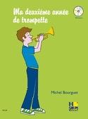 Ma 2ème Année de Trompette Michel Bourguet Partition laflutedepan.com