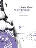 Water music - suite n° 2 HAENDEL Partition laflutedepan.com