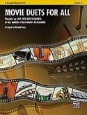 Movie duets for all Partition Trompette - laflutedepan.com