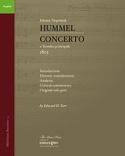 Concerto - Johann Nepomuk Hummel - Livre - laflutedepan.com