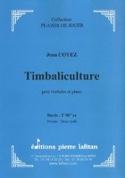 Timbaliculture Jean Coyez Partition Timbales - laflutedepan.com