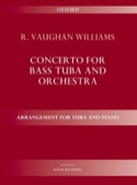 Concerto Williams Ralph Vaughan Partition Tuba - laflutedepan.com