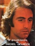 12 Grands succès Michel Delpech Partition laflutedepan.com