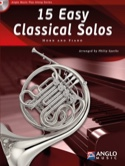 15 Easy classical solos - Partition - Cor - laflutedepan.com