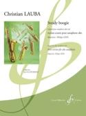 Steady boogie Christian Lauba Partition Saxophone - laflutedepan.com