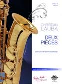 2 pièces Christian Lauba Partition Saxophone - laflutedepan.com