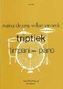 Triptiek Hein de Jong & William van Neck Partition laflutedepan.com