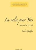 La valse pour Yves Jordan Gudefin Partition Marimba - laflutedepan.com