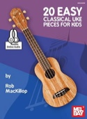 20 Easy classical uke pieces for kids Partition laflutedepan.com