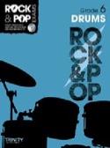 Rock & Pop Exams - Drums grade 6 Partition laflutedepan.com