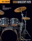 Bloc de papier à musique pour batterie Partition laflutedepan.com