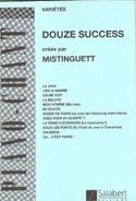 12 Succès Mistinguett Partition Chansons françaises - laflutedepan.com