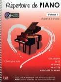 Répertoire de Piano Volume 1 - Christophe Astié - laflutedepan.com