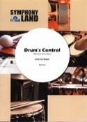 Drum's control Blanche et Dayan Jean-Luc M. Partition laflutedepan.com