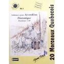 20 morceaux Quebecois Volume 1 Partition laflutedepan.com