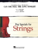 Can You Feel the Love Tonight du film le Roi Lion - Pop Specials for Strings laflutedepan.com