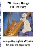 76 Chansons de Disney pour la harpe DISNEY Partition laflutedepan.com
