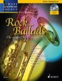 Rock Ballads Partition Saxophone - laflutedepan.com