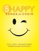 5 Happy Songs For Choir Partition laflutedepan.com