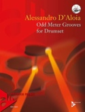 Odd Meter Grooves for Drumset Alessandro D'Aloia laflutedepan.com