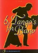 6 Tangos for Piano Partition Piano - laflutedepan.com