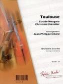 Toulouse - Claude Nougaro - Partition - ENSEMBLES - laflutedepan.com