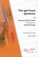 The Girl From Ipanema Antonio Carlos Jobim Partition laflutedepan.com