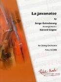 La Javanaise - Serge Gainsbourg - Partition - laflutedepan.com