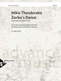 Zorba's Dance Mikis Theodorakis Partition Saxophone - laflutedepan.com