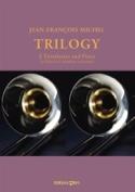 Trilogy Jean-François Michel Partition Trombone - laflutedepan.com