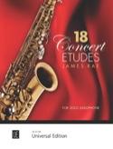 18 Concert Etudes - James Rae - Partition - laflutedepan.com