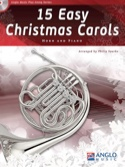 15 Easy Christmas Carols - Noël - Partition - Cor - laflutedepan.com
