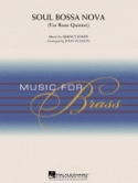 Soul Bossa Nova for brass quintet Quincy Jones laflutedepan.com
