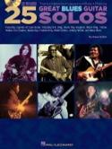 25 Great Blues Guitar Solos - Partition - Jazz - laflutedepan.com