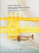Christian Aboucaya - Exercices Progressifs Et Etudes Volume 1 - Partition - di-arezzo.fr