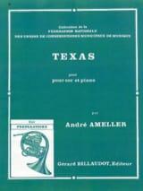 Texas André Ameller Partition Cor - laflutedepan.com