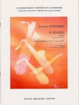 Joachim Andersen - 24 Etudes Opus 21 - Partition - di-arezzo.fr