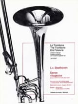 Danse Villageoise BEETHOVEN Partition Trombone - laflutedepan.com
