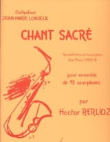 BERLIOZ - Sacred Song - Sheet Music - di-arezzo.co.uk