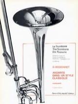 Andante dans un Style Classique Georges Bessonnet laflutedepan