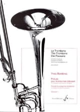 Yves Borderes - Prelude for Beginner Trombonist Volume 1 - Sheet Music - di-arezzo.com