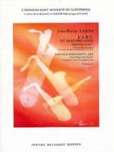 Jean-Pierre Caens - L' A.B.C. du Saxophoniste Volume 2 - Partition - di-arezzo.fr