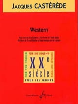 Jacques Castérède - Western - Sheet Music - di-arezzo.com